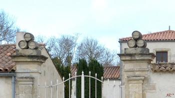 Entrée de la ferme du Petit-Brouage (domaine de Guillaume Allène ?)