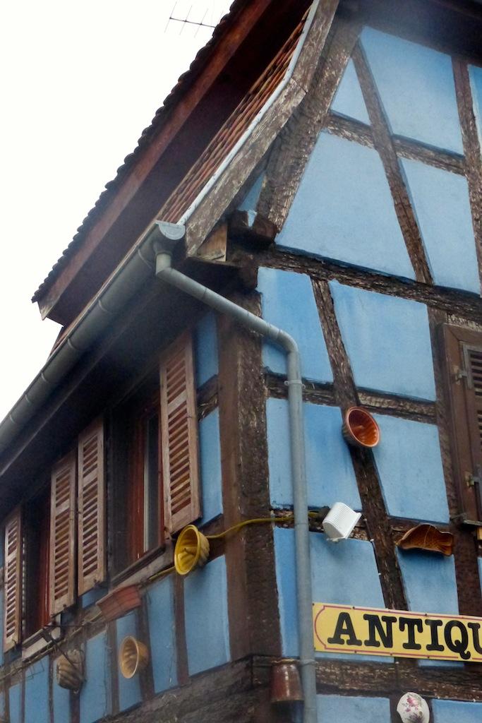 Balade autour de Chatenois: visite d'antiquaires!