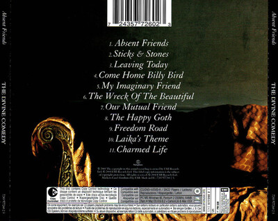 Chefs d'oeuvre oubliés # 89 : The Divine Comedy - Absent friends (2004)