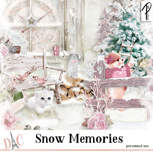 SNOW MEMORIES (PU) PLIDESIGNS