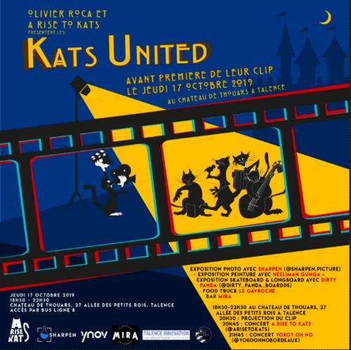 A Rise To KaTs : venez découvrir un groupe bordelais au Château de Talence !