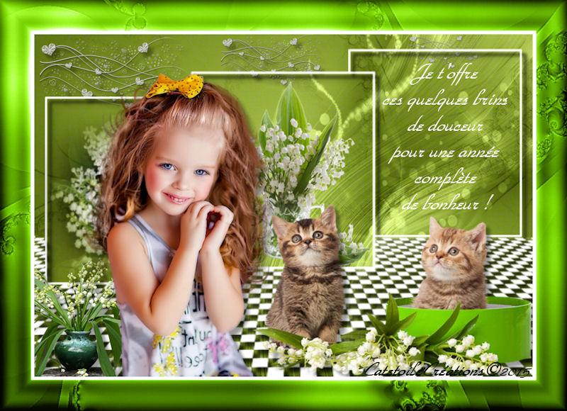 Bon 1er Mai et Beaucoup de Bonheur pour Toutes et Tous