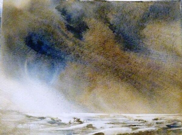 Peinture d' Anne Huet Baron
