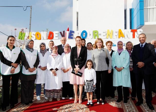 Lalla Salma inaugure