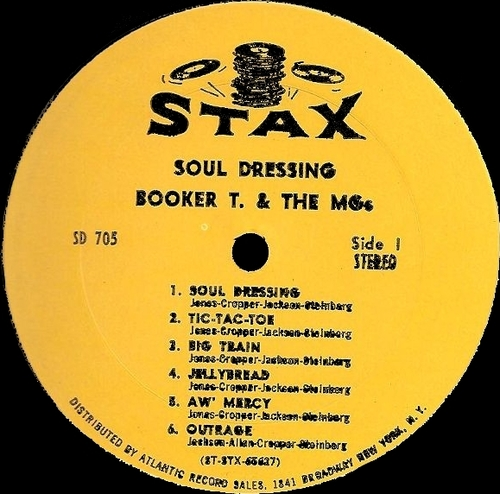 "1965 : Album "" Soul Dressing "" Stax Records 705 [ US ]"