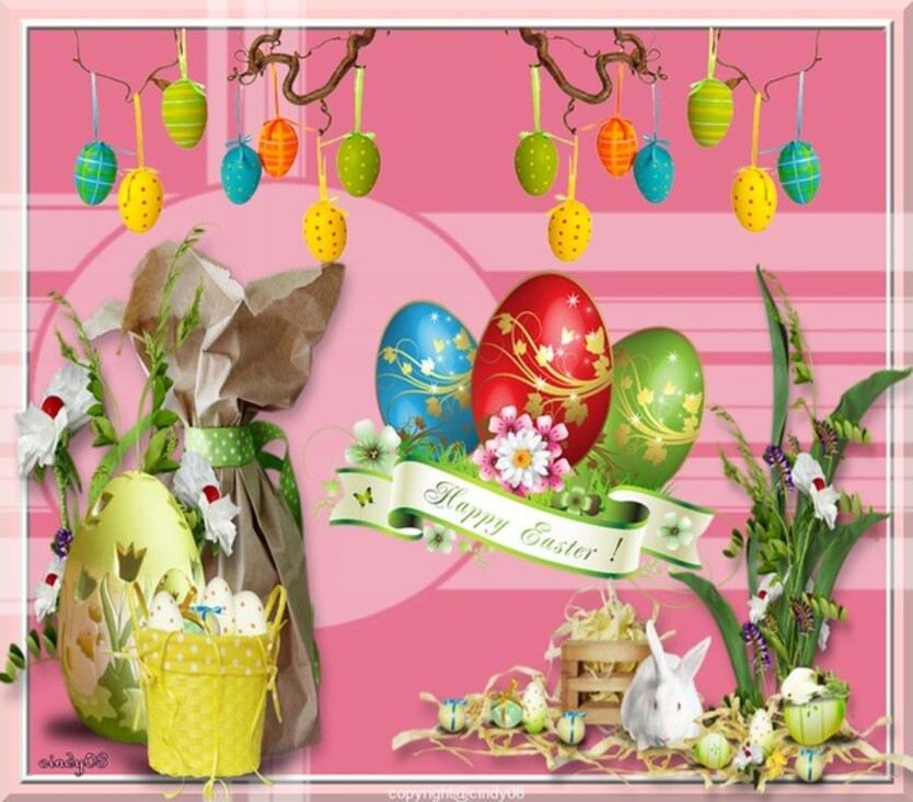 Joyeuses Pâques  chez Jacotte 85