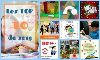 Les Top 10 de 2019