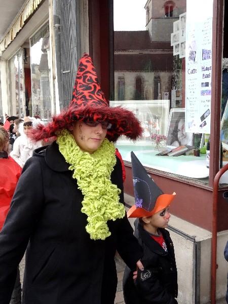 Halloween 2012 avec la MJC Lucie Aubrac de Châtillon sur Seine...