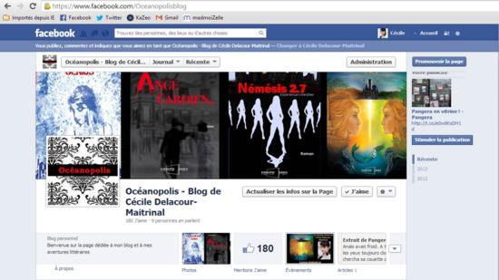 Page Oceanopolis Facebook
