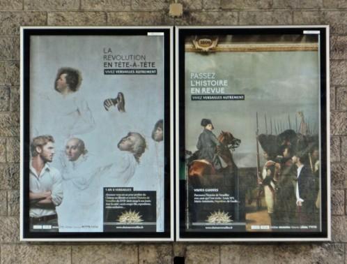 affiche Versailles RÉVOLUTION
