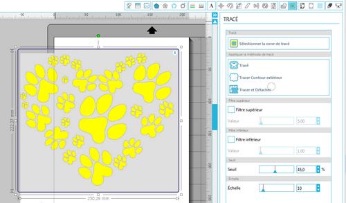 Mon tuto (en images) vectorisation avec Designer V3