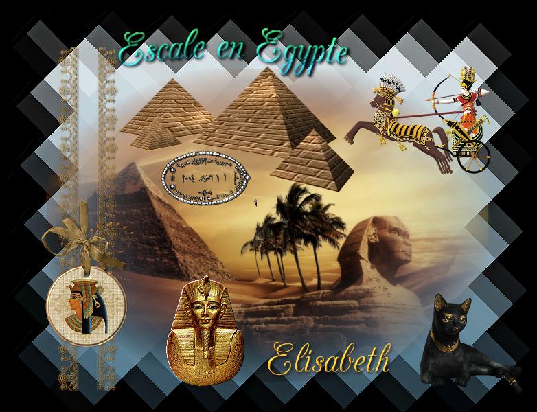Défi escale n° 3 L'Egypte