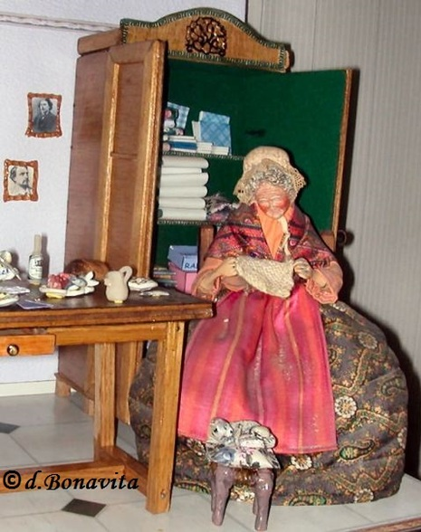 Mes Créations : Diorama Salon Provençal !