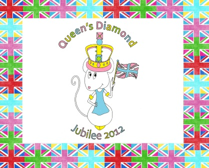 Alice is having a Diamond Jubilee Tea Party !