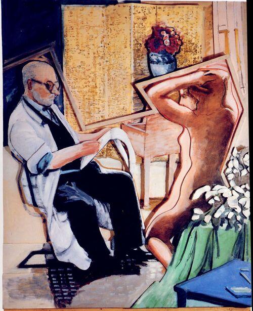 """Larry Rivers - et l'art des images  """" décalées"""""""