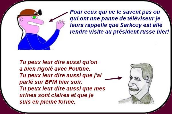Sarkozy chez Poutine
