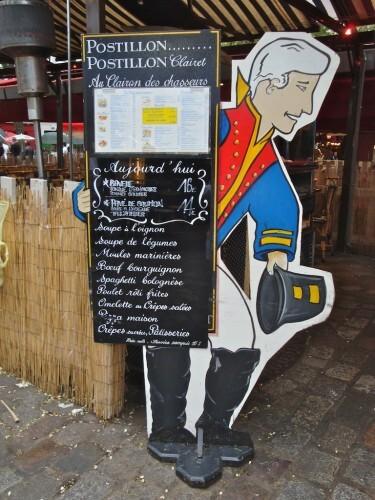porte-menu valet