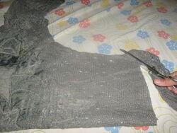 un pull...en sac hihihih