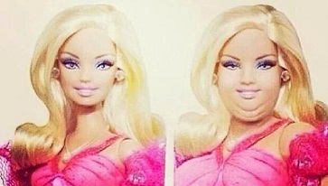 L'horrible Barbie ...
