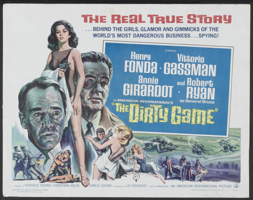 THE DIRTY GAME BOX OFFICE USA 1966