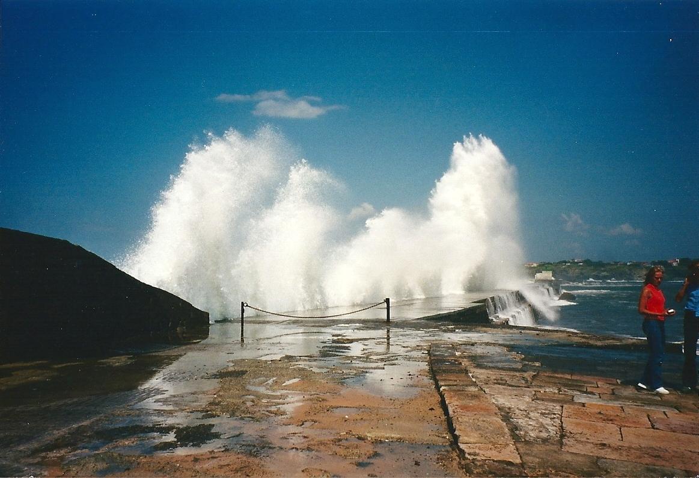 Les vagues à Biscarrosse