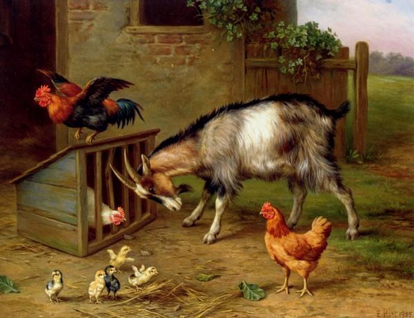 Peinture de : Edgar Hunt