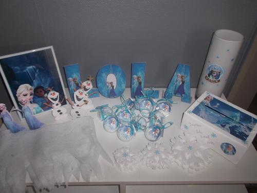 Création et décoration Reine des neiges