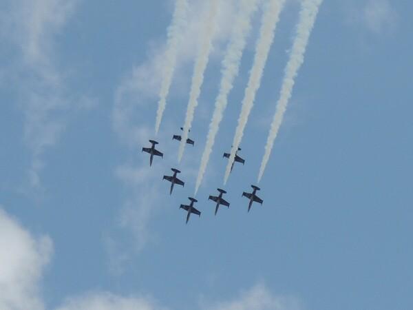 Le meeting de Dijon, vu par Nicole Prévost, passionnée d'aviation....