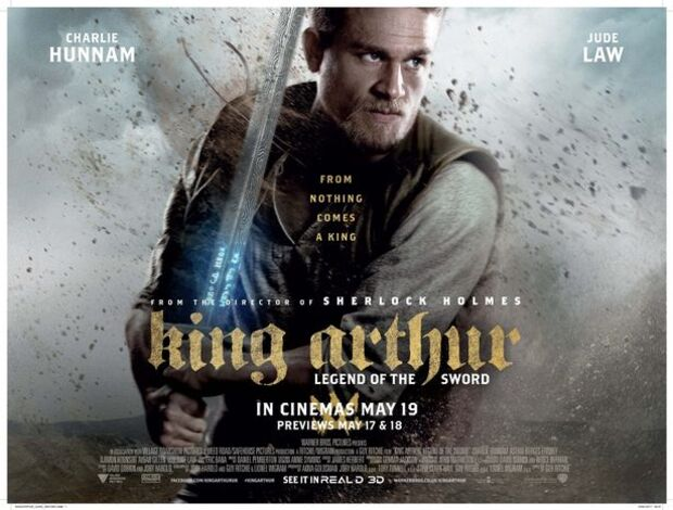 KING ARHUR BOX OFFICE UK