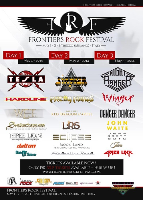 Affiche Frontiers Records