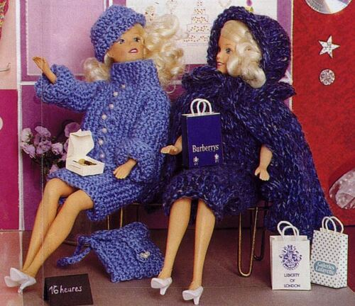 Barbie fait du shopping