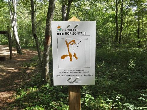 Le parcours de santé en forêt châtillonnaise...