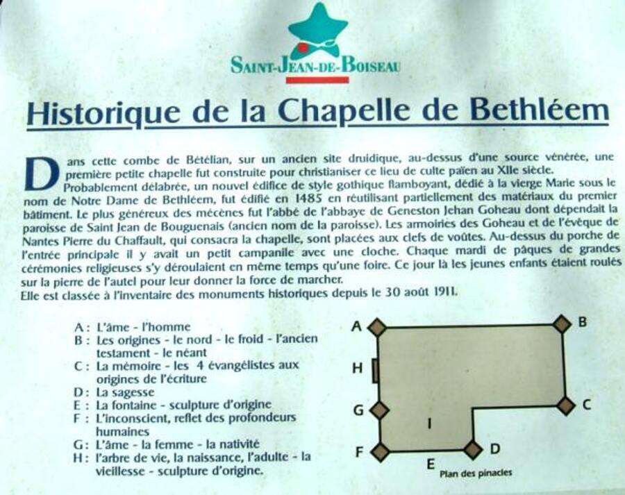 la Chapelle de Béthléem