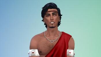Evandros, roi de Léonie, porteur de l'épée ancestrale Ithrîn