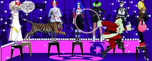 noel-circus Quebec