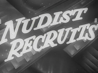 Nudist Recruits. 1950.