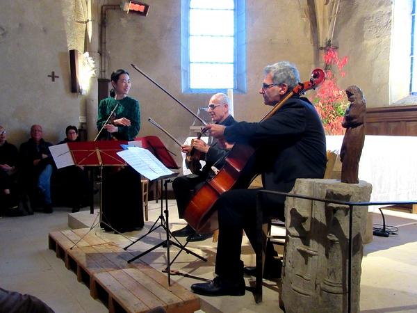 Un superbe concert a eu lieu dans l'église de Saint Marc sur Seine