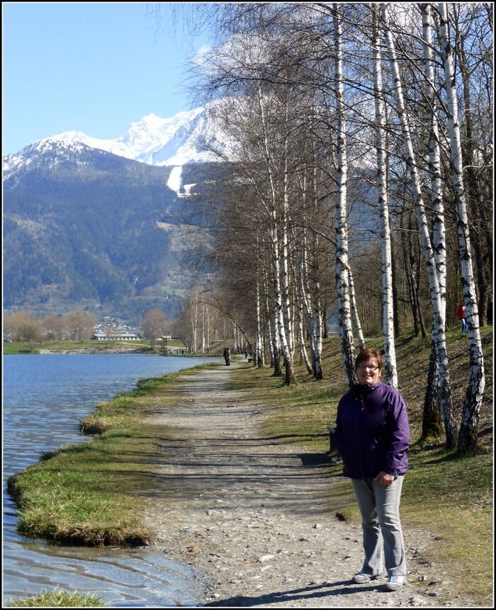 Au lac de Passy hier.....