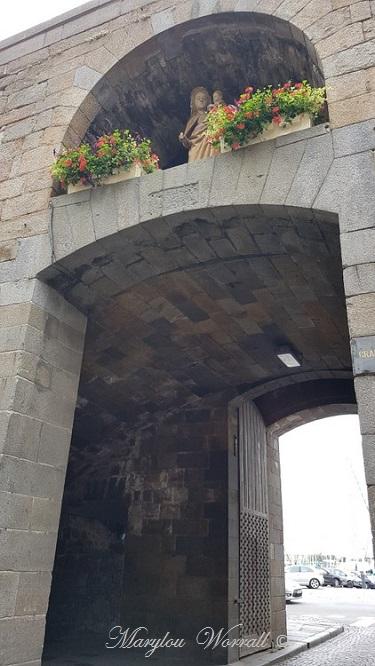 Bretagne : Saint-Malo les remparts