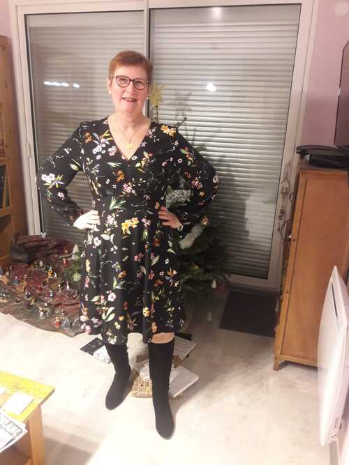 Robe Magnolia pour les fêtes