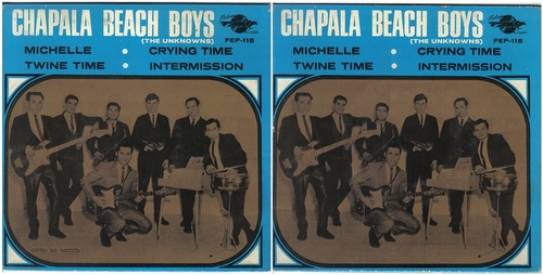 CHAPALA BEACH BOYS (The Unknowns)