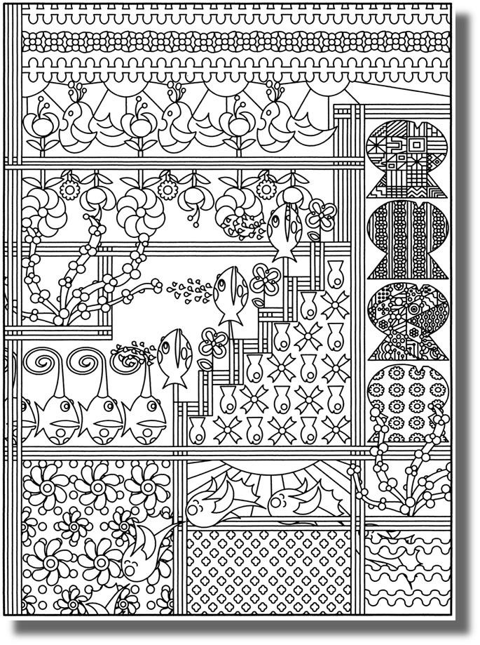 Coloriage Avril Printemps.1er Avril Capuchon A L Ecole