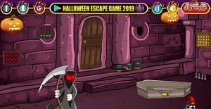 Jouer à Halloween nightware door escape