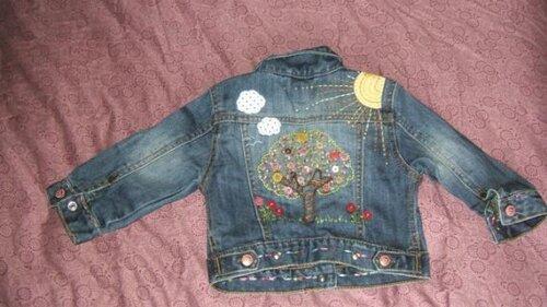 Bouson en jeans personnalisé