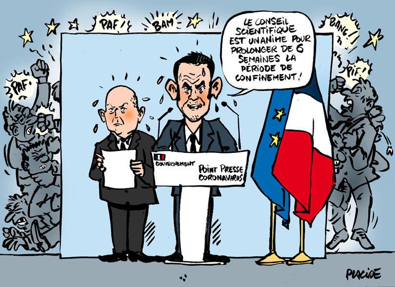 Coronavirus : Le confinement va durer six semaines en France