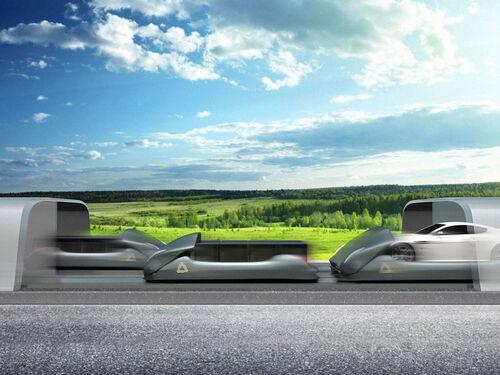 Des autoroutes à 320 Km/h grâce à la lévitation magnétique