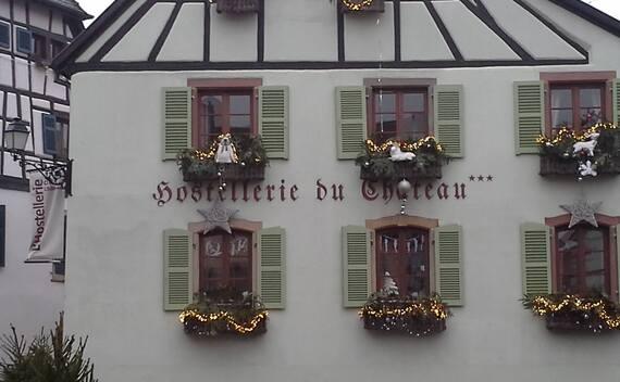 Dans les rues d'Eguisheim