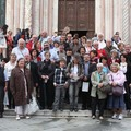 Devant la cathédrale de Sienne