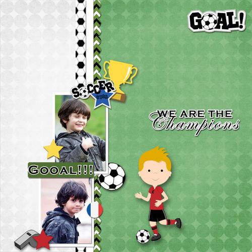 Soccer addict