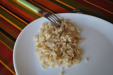 Riz pilaf aux petits oignons